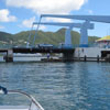 Simpson Bay bridge Saint Marten